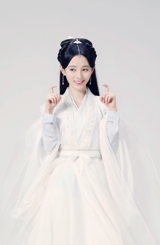 鞠婧祎古装仙气写真